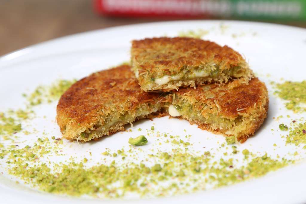 KUNEFE WITH CHEESE AND PISTACHIO